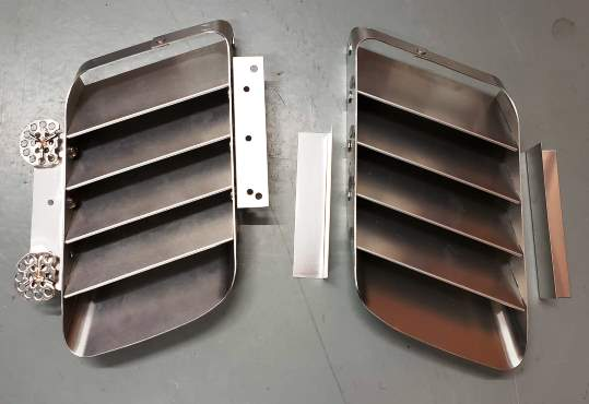 Louvers assembled FFR