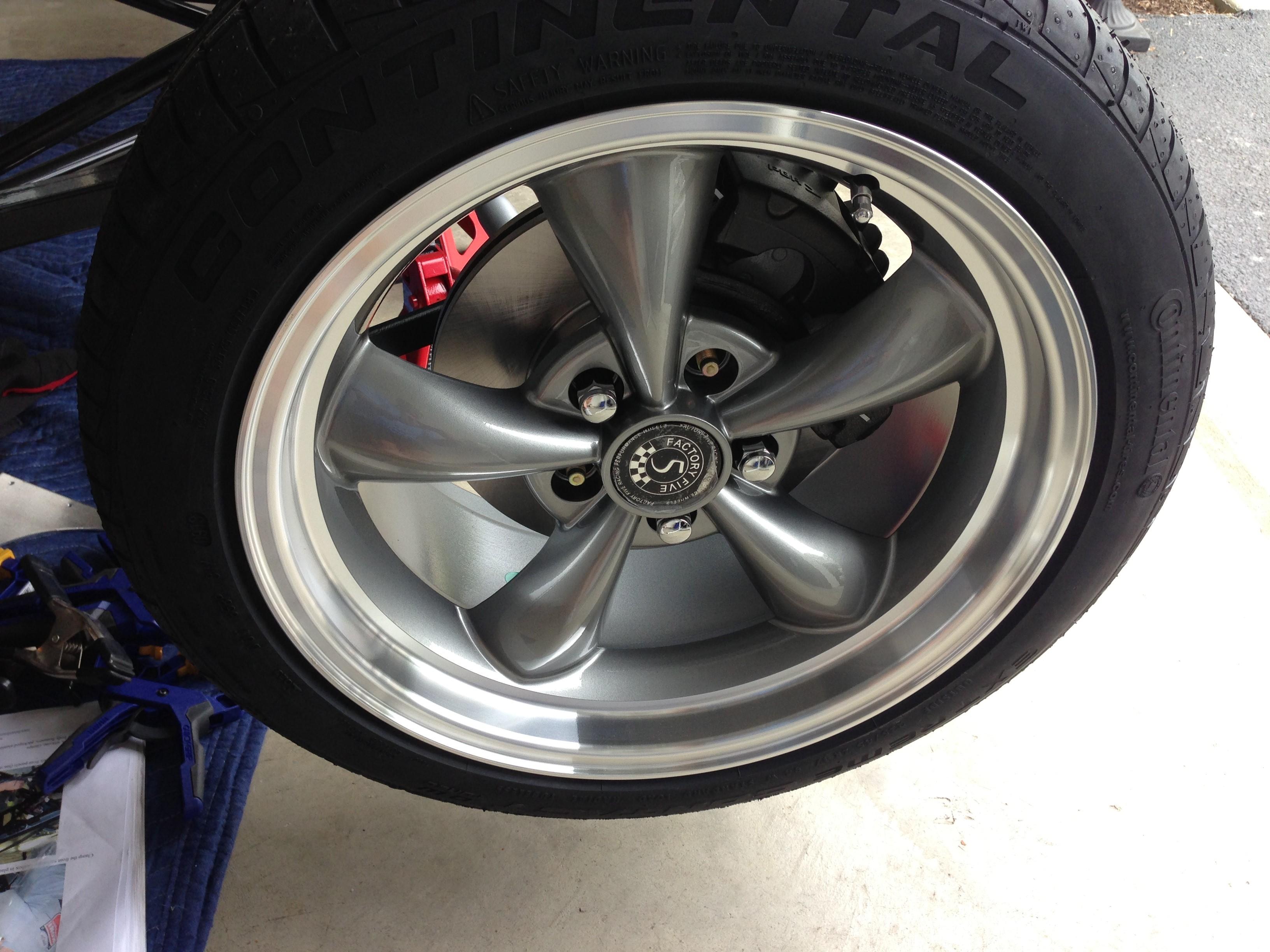 33 Bullitt Wheels Up For Grabs CHEAP