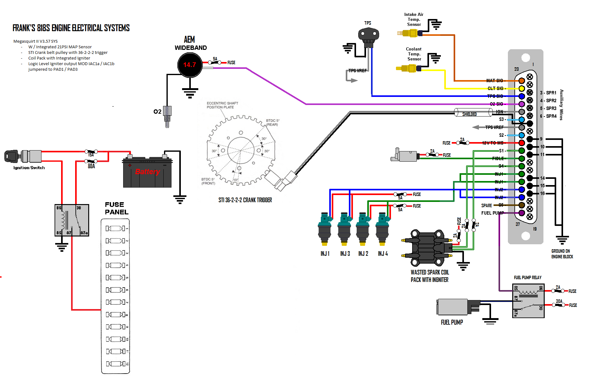 Megasquirt Project – Diagram Of An Engine Ej205