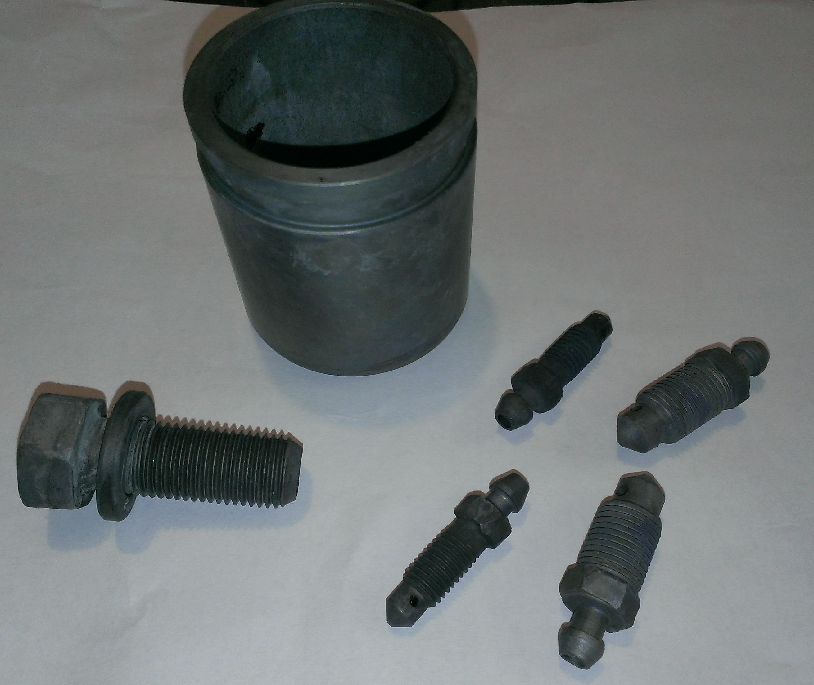 DIY Zinc Plating for Donor Nuts and Bolts