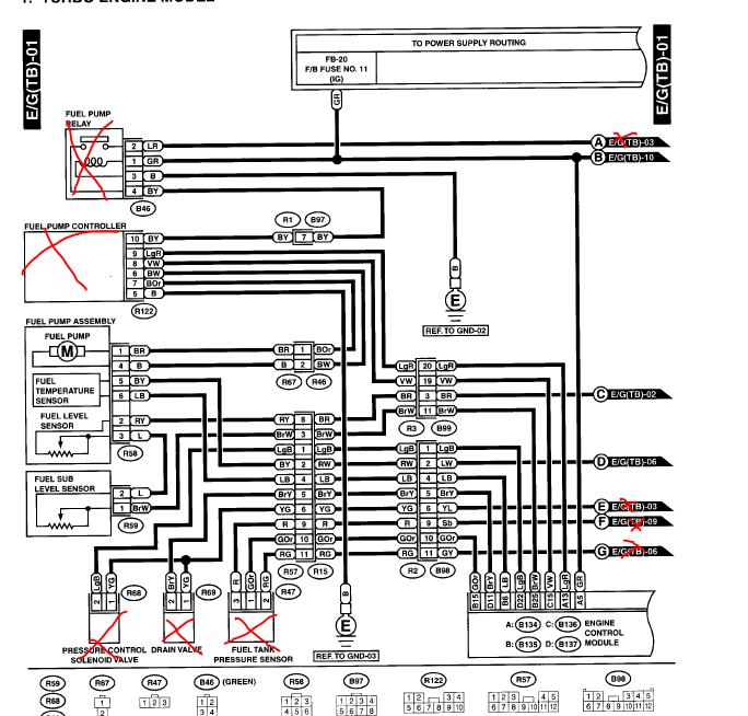DIY ODBII working standalone wiring harness – Diagram Of An Engine Ej205