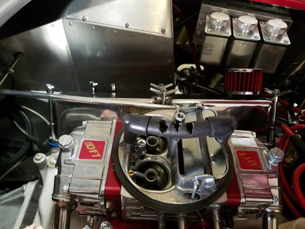 Engine stall when braking hard