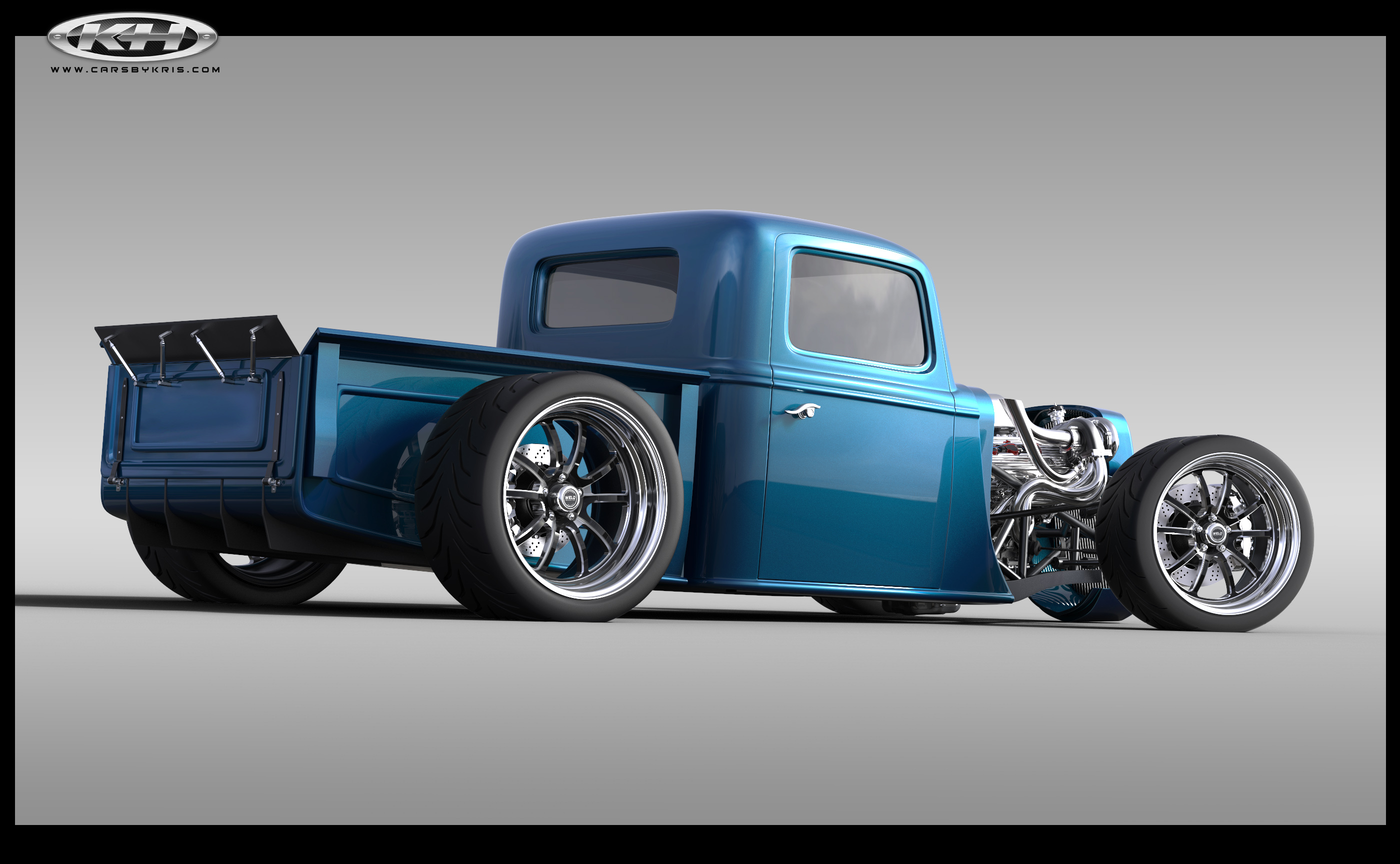 My 1,200hp twin-turbo Coyote powered Truck project for Hot Rod Magazine