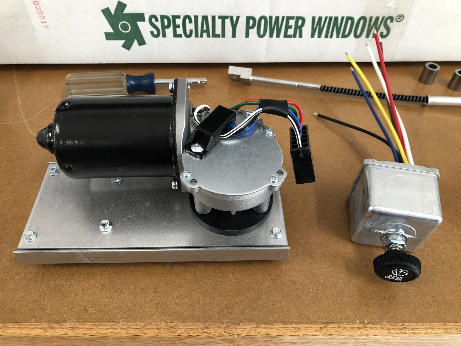 Factory Five Forums | Specialty Power Windows Wiper Wiring Diagram |  | Factory Five Forums