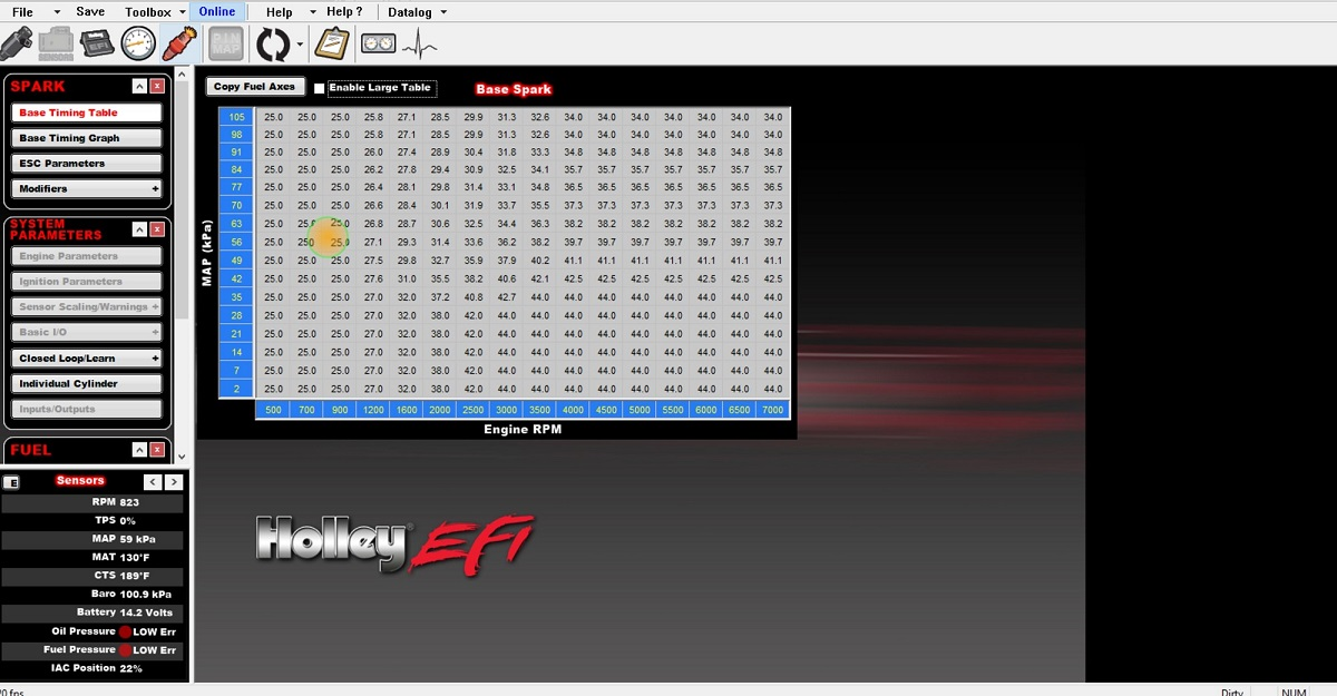 Holley HP EFI help needed - BACKFIRE: SUCCESS!